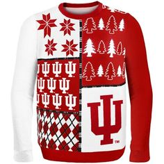Indiana Hoosiers Ugly Sweater -- Official Indiana University Online Store