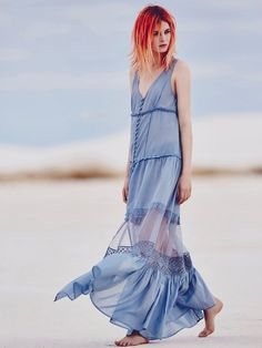 Free People Victoria Buttonfront Maxi, £98.00