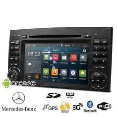 Autoradio Mercedes con Android, Gps, Dvd Bluetooth Xtrons PF7M245A