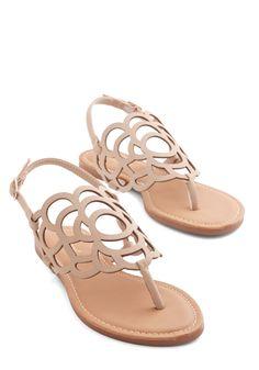 Peony sandals