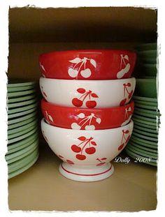 Cherry bowls