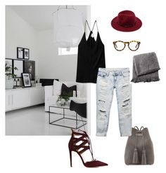 """""""Sans titre #125"""" by fashpolyvore on Polyvore featuring mode, Aquazzura, Tom Ford, Wilfred, Wet Seal, Forever 21 et From the Road"""