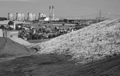 The power stations at Ferrybridge, Drax and Eggborough were built in the 1960s and 70s to burn coal from pits in West and South Yorkshire. Now it's almost all imported and the grassed over muck stacks are all that remain, like these at the former Glasshoughton Colliery, Castleford.