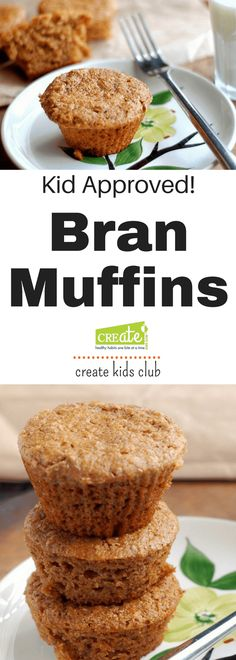 These kid friendly Bran Muffins are a delicious way to boost fiber and pack nutrients into after school snacks. Freeze muffins for quick grab and go snacks. Healthy Bedtime Snacks, Healthy School Snacks, Healthy Protein Snacks, After School Snacks, Quick Snacks, Healthy Kids, Healthy Muffins For Kids, Healthy Recepies, Kid Snacks