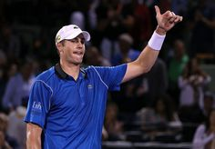 John Isner reaches round of 16 at Miami Open with win over Dimitrov.