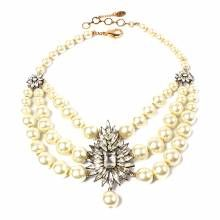 Amrita Singh Pearl Baronial Evening Necklace