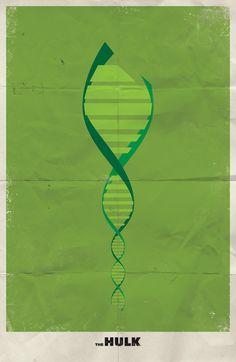 minimalist posters - the hulk