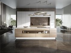 Contemporary style wooden kitchen SieMatic PURE - SE 3003 R by SieMatic