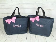 Set of 4 Bridesmaids Gifts, Personalized Tote Bag, Gift for her, Monogrammed Tote Wedding Tote Bridal Party Personalized Tote Bag Bridesmaid Tote Bags, Etsy Bridesmaid Gifts, Personalized Bridesmaid Gifts, Bridesmaids, Monogram Tote Bags, Personalized Tote Bags, Teacher Tote Bags, Teacher Gifts, Gifts For Wedding Party