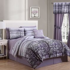 Geneva Home Fashion Forest 8 Piece Bed in a Bag