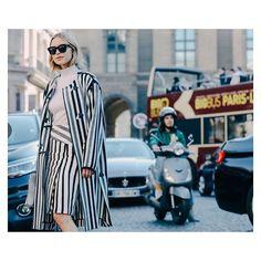 "Pernille Teisbaek on Instagram: ""Racing stripes for @vogueparis"""