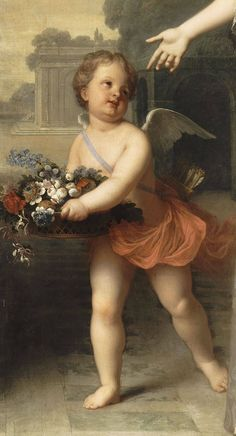 Jean-Baptiste Santerre - Maria Adelaide von Savoyen, 1709 (detail)