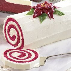 The Swiss Colony Red Velvet Swirl Cake