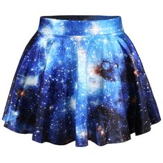Chicnova Fashion Pleated Mini Skirt (365 PHP) ❤ liked on Polyvore featuring skirts, mini skirts, elastic waist skirt, short skirts, pleated miniskirt, blue pleated skirt and short mini skirts