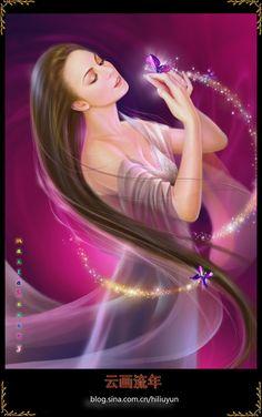 Mariah Carey by hiliuyun on DeviantArt Beautiful Artwork, Beautiful Images, Mariah Carey Pictures, Wolf, Fantasy Art Women, Guinness World, Believe In Magic, Album, Fantasy Creatures