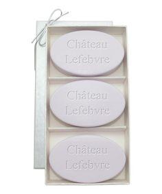 Château Lavender Soap Set #zulily #zulilyfinds