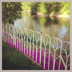 This riverfront garden venue is gorgeous! --at Del Rio Vista Garden