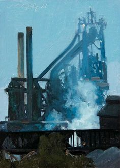 Detroit Blues...one of my favourite paintings by Stephen Magsig.