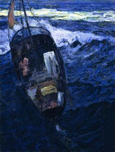 Fishermen at Sea (Henry Ossawa Tanner - circa 1913-1914)