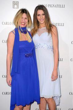 Cristina Lodi and Antonella Fiordelisi wearing Carlo Pignatelli  #carlopignatelli #fashionshow #sfilata #hautecouture #photocall #guest #celebrity