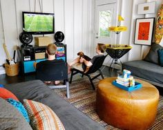 A Detached Garage Turned Into a Cool Teen Hangout -- Professional Project
