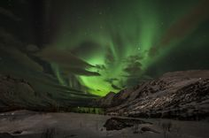 Northern Lights near Tromsø   26 Photos That Prove Norway Is The Stuff Of Dreams