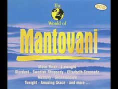 "MANTOVANI - Andalucia    Mantovani and His Orchestra plays ""Andalucia"". From 2Cd compilation ""The World Of Mantovani"" - ZYX Music - 1995."