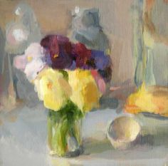 Christine Lafuente, Pansies and Eggshell