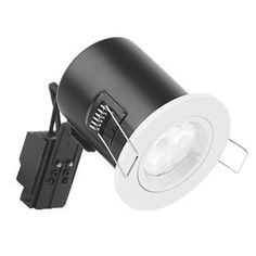 Aurora Fire Rated Fixed LED Downlight IP20 White A fixed, white downlight. Suitable for mains voltage. Compliant with Parts B, C, E and L of the Building Regulations. http://www.MightGet.com/april-2017-1/aurora-fire-rated-fixed-led-downlight-ip20-white.asp
