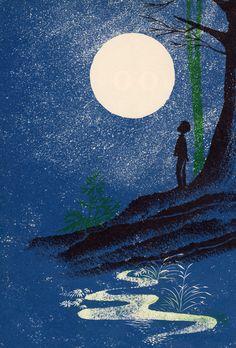 Leonard Weisgard «Look at the Moon» Иллюстратор Leonard Weisgard Автор May Garelick Страна США Год издания 1969 Издательство Young Scott Books