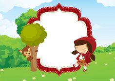 Convite para festa infantil Chapeuzinho Vermelho