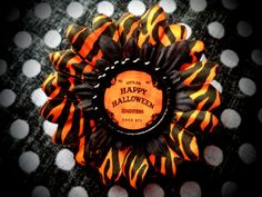 Ouija Halloween PETITE hair flower by LttleShopOfHorrors on Etsy, $6.50