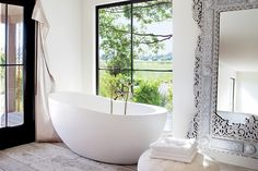 stunning bathroom with simple details and decor