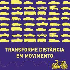 Cartaz: Transforme distância em movimento | Grupo Poro
