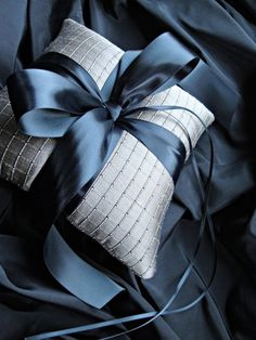 Ring bearer pillow - awesome colors!