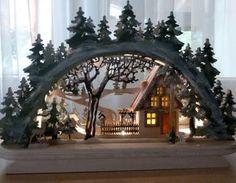 Ist das nicht ein zauberhafter Schwibbogen? Make Christmas magical. #bosch #makeityourhome