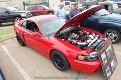 This #Ford #Mustang went on the chassis dyno shortly after this photo was taken and laid down about 1,500 horsepower.