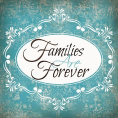 Free printable-Families are Forever-2014 Lds Primary theme #freeldsprintables #ldsprimarytheme2014