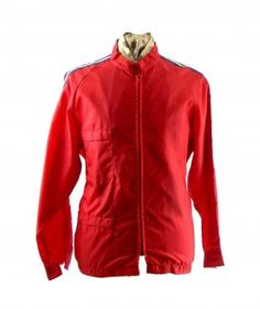 Red 1980s racing jacket