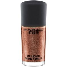 MAC Studio Nail Lacquer ($12) ❤ liked on Polyvore featuring beauty products, nail care, nail polish, makeup, fillers, nails, beauty, cosmetics, spelldazzling and mac cosmetics