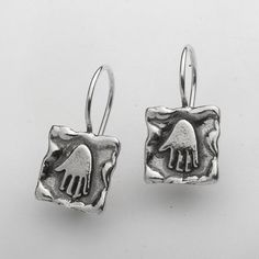 Shablool Didae Israel Special 925 Silver Earrings With Stone