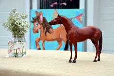 Vintage pony party with Breyer horses