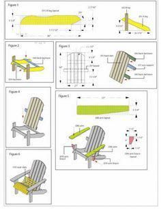 Free Diy Adirondack Chair Plans Build Adirondak Amp Muskoka Chair with Adirondack Chairs Blueprints Adirondack Rocking Chair, Rocking Chair Plans, Adirondack Chair Plans Free, Adirondack Furniture, Outdoor Furniture Plans, Patio Chairs, Dining Chairs, Wood Chairs, Easy Woodworking Projects