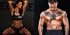 Bodybuilding 12 Sexiest Vegan Bodybuilders And Their Favorite Meals Destroy All Stereotypes About Getting Lean - Myth: a plant-based diet lacks the protein to build large muscles. Insanity Workout, Best Cardio Workout, Workout Fitness, Workout Men, Workout Routines, Workout Shirts, Vegan Bodybuilding, Bodybuilding Recipes, Bodybuilder