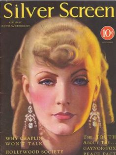 Silver Screen Magazine with Greta Garbo 1930