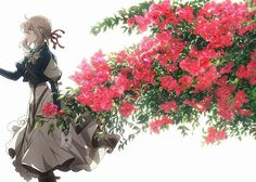 Violet Evergarden will be getting an anime movie in The movie will be released worldwide. All Anime, Anime Manga, Anime Art, Anime Goku, Anime Kiss, Violet Evergreen, Violet Evergarden Anime, Kyoto Animation, Light Novel