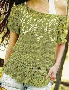 Crochet tesoro: Shirt
