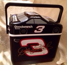 Collectible Dale Earnhardt Cooler on Etsy, $55.00