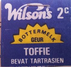 Wilsons Toffies (South Africa - Afrikaans)