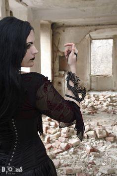 """""""Mask"""" #goth  #gothic  #gothgoth  #gothicgirl  #nekromancica"""